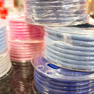 Textielsnoer gekleurd strijkijzersnoer