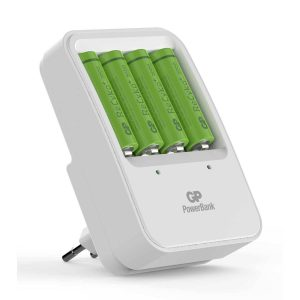 GP Recyko batterijlader incl 4 Nimh AA 2000mAh