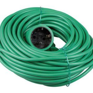 verlengkabel 20 meter groen