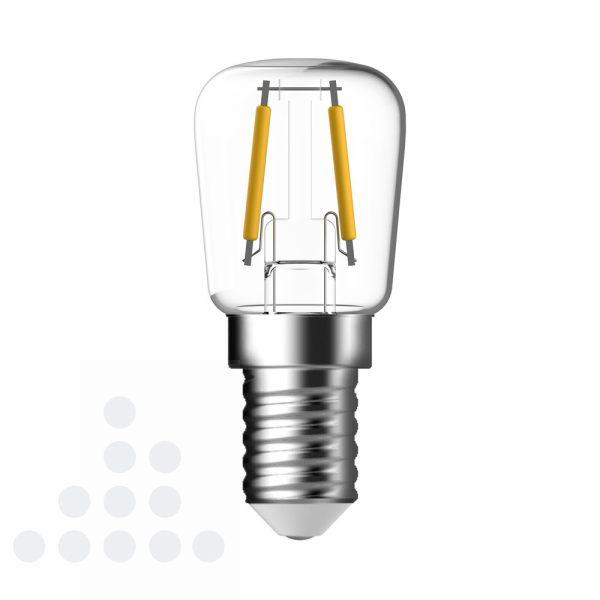 Energetic LED schakelbordlamp helder filament E14 / 1,2 watt 100 lumen