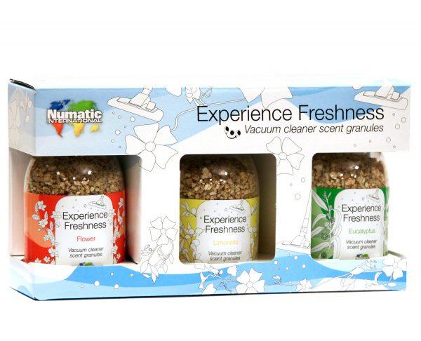 Geurkorrels Numatic experience freshness