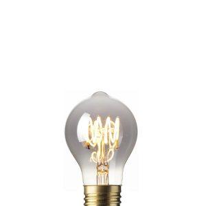 Calex flex filament titanium peer led lamp 425733
