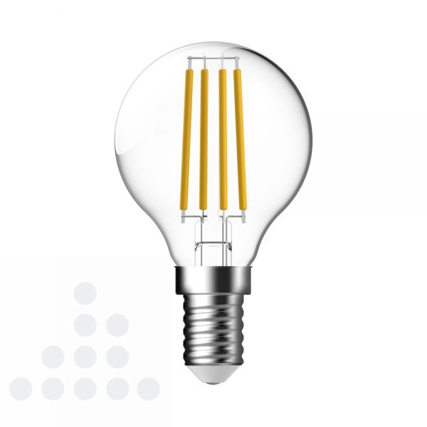 Energetic LED kogel helder filament E14 4,4w 470 lumen