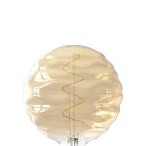 Calex Bilbao Led lamp 240V 4W 140lm E27, Goud 2100K dimbaar