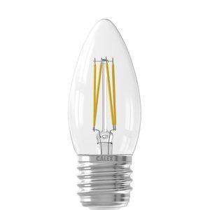 Calex Kaarslamp Led filament helder E27 3,5 watt dimbaar