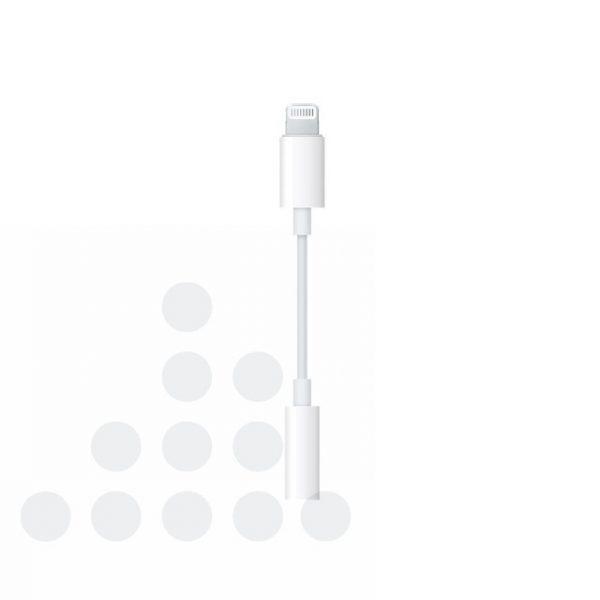 Audiokabel Apple Lightning naar 3,5mm aux contra