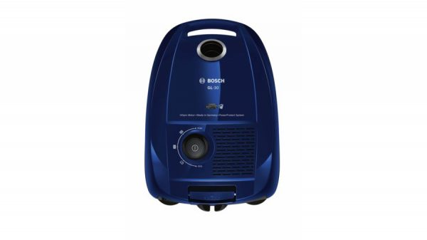 Bosch stofzuiger GL30 blauw metallic 650 watt lichtgewicht