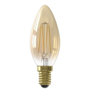 Calex Kaarslamp Led filament gold E14 3,5 watt dimbaar