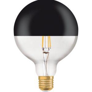 Osram LED Globe Vintage ed1906 Mirror Black 7 watt 680 lumen