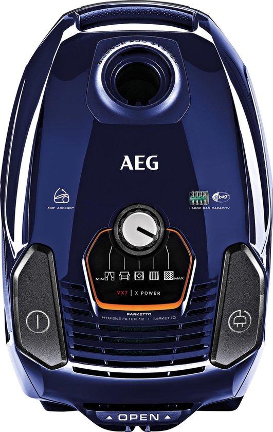 AEG stofzuiger VX7 X Power blauw
